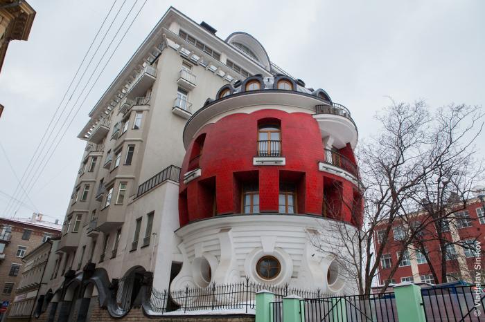 Дом-яйцо в Москве как символ лужковской архитектуры