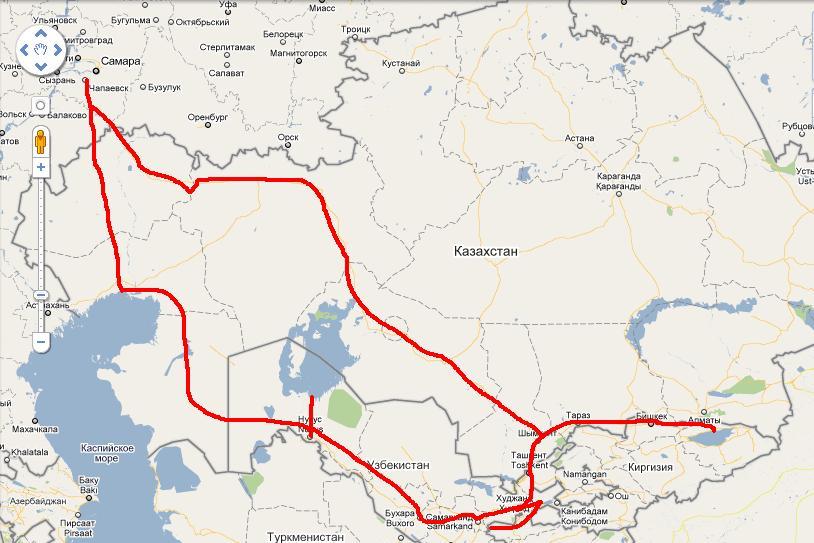 этой какая граница работает между казахстаном и узбекистаном при втором УЗИ