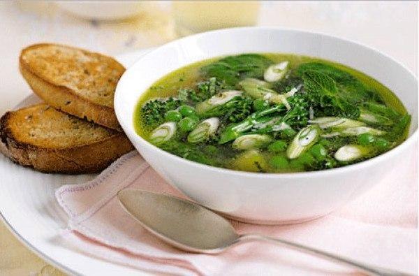 Полезные рецепты из весенней зелени