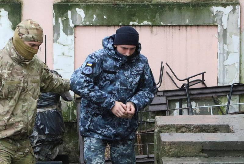«Хочется домой»: один из украинских моряков написал письмо
