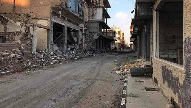 Правительственные силы взяли под контроль дорогу Дамаск-Пальмира