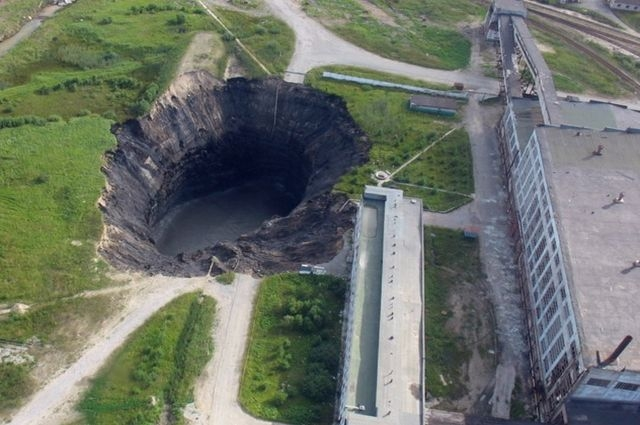 Березники уходят под землю