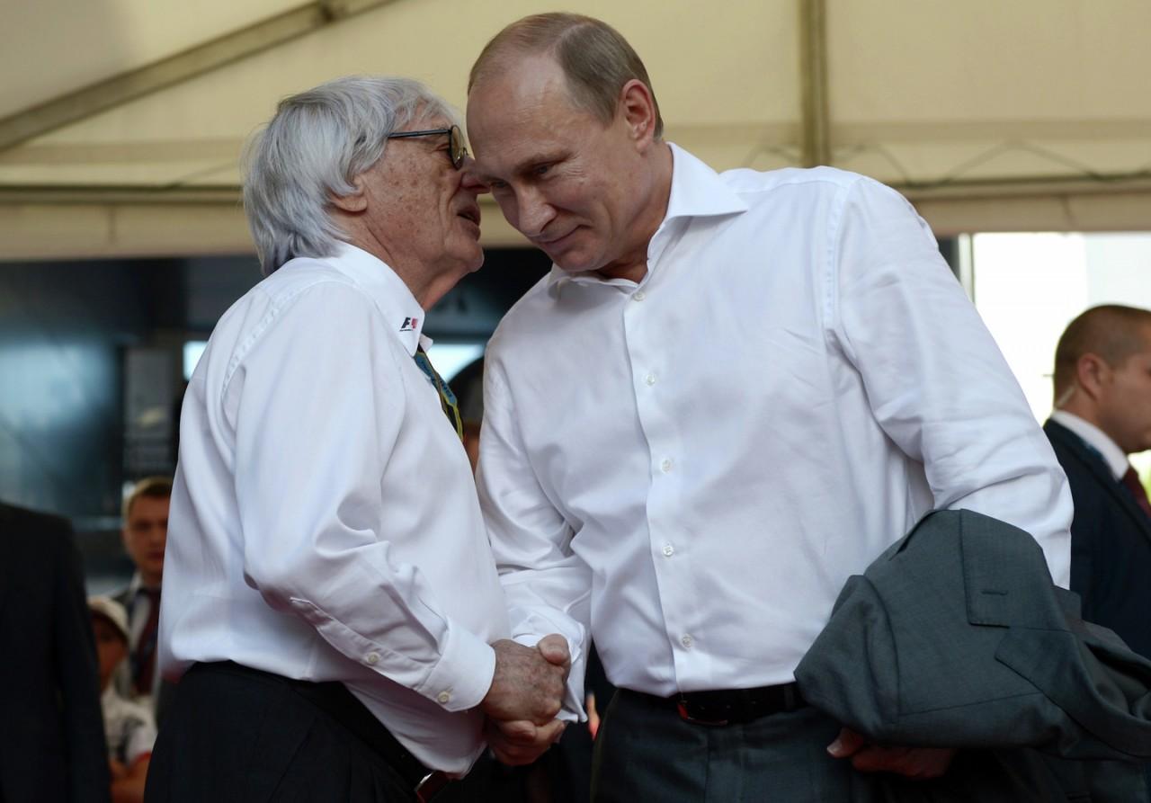 Берни Экклстоун заявил, что Путин должен управлять Европой