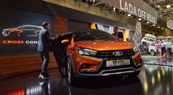 В Германии Lada продается лучше, чем Volkswagen и Lexus