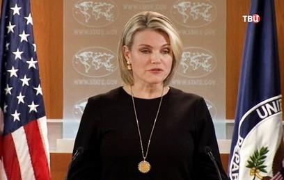 Журналисты из США заступились за коллег из России на брифинге Госдепа