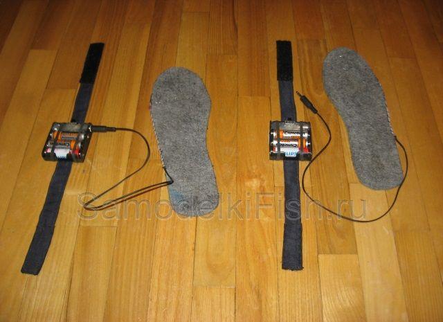 Как сделать обувь с подогревом своими руками 92