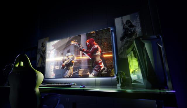 Nvidia представила 65-дюймовый 4К-дисплей для геймеров