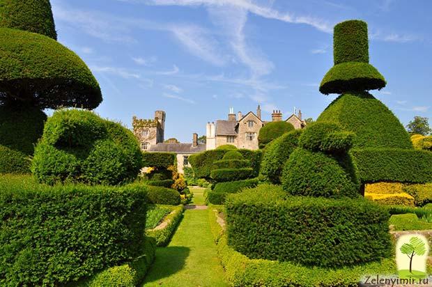 Сад Левенс Холл – самый красивый и самый ароматный сад в мире, Англия - 11