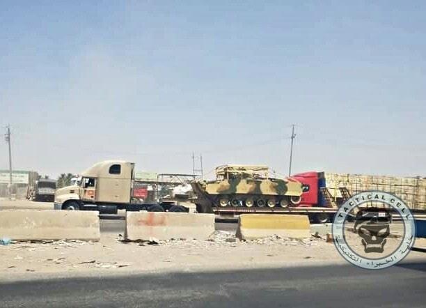 В Ирак доставлена первая партия БМП-3