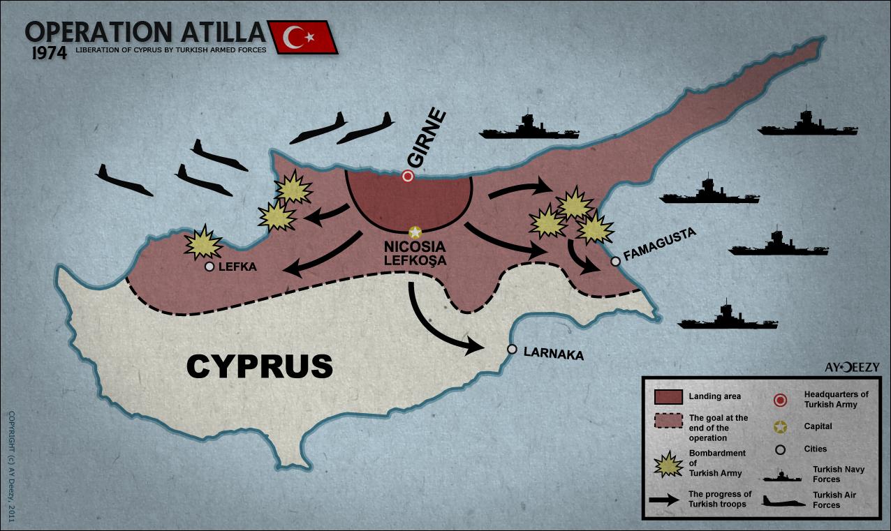 Внешняя политика Турции и вопрос Кипра