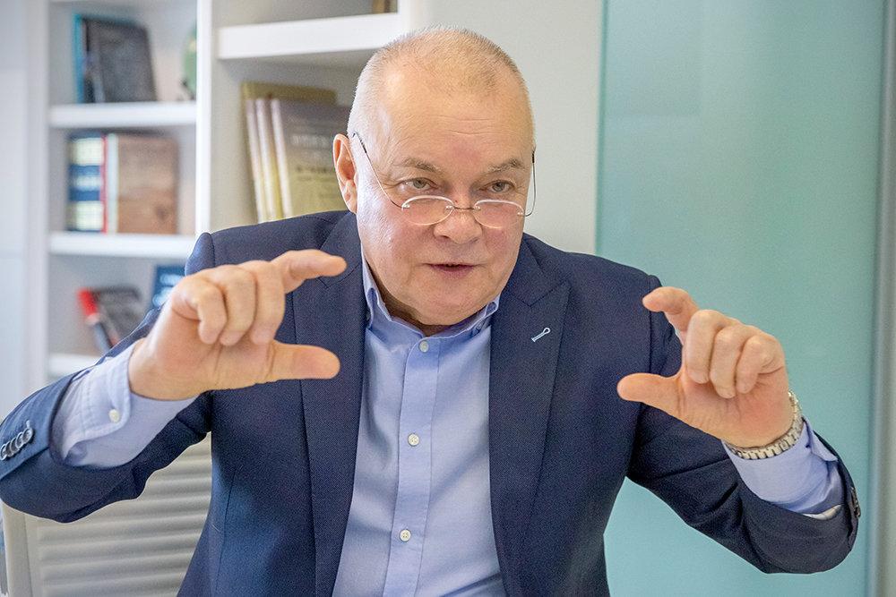 Дмитрий Киселев - о информационных войнах, пропаганде и цензуре