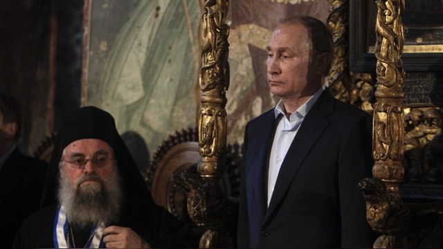 Der Spiegel: Афонские монахи предпочли Путина своему президенту
