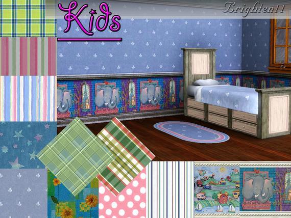 Детские текстуры от Brighten11
