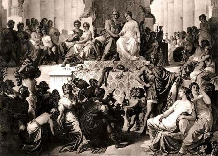 Александр III и Роксана.