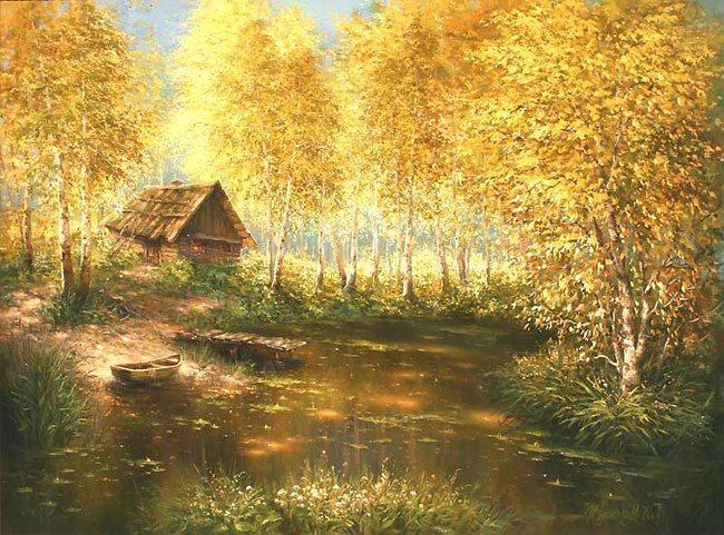 Солнечное творчество художника Михаила Иваненко
