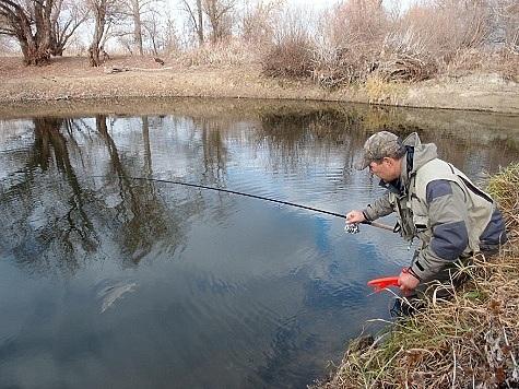 технология весенней рыбалки