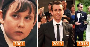 Не хотим расстраивать, но звезда «Гарри Поттера» Мэттью Льюис женился. Посмотри, кто украл сердце актера!