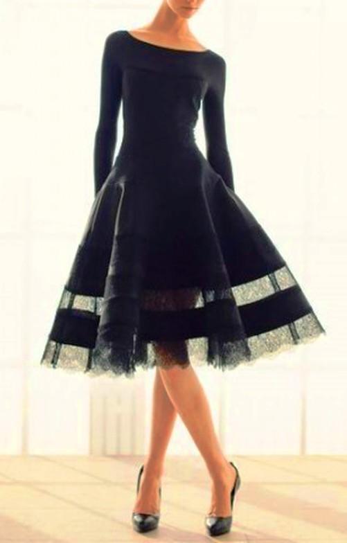 Классика моды — парад маленьких черных платьев