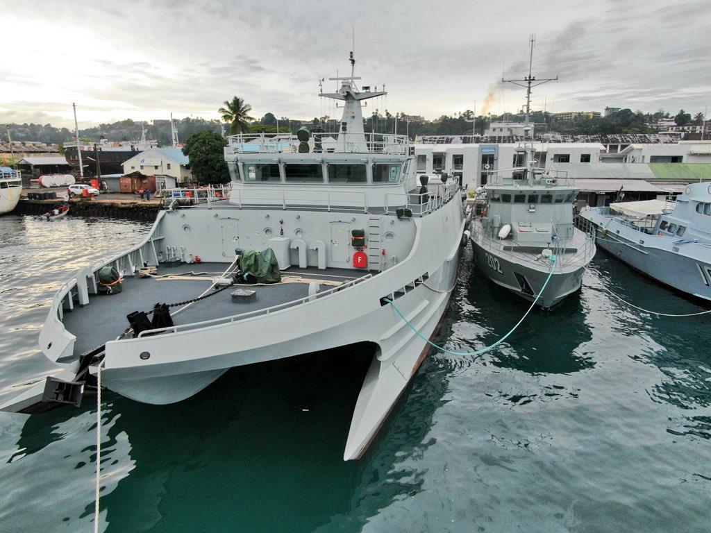 ВМС Фиджи получили гидрографическое судно китайской постройки