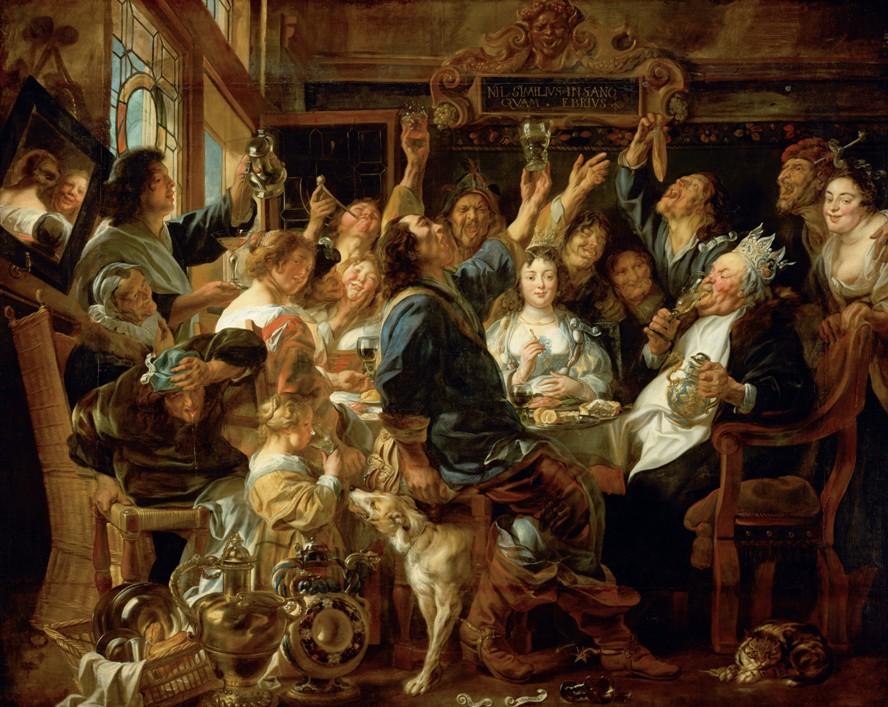 Жизнерадостные фламандцы Якоба Йорданса