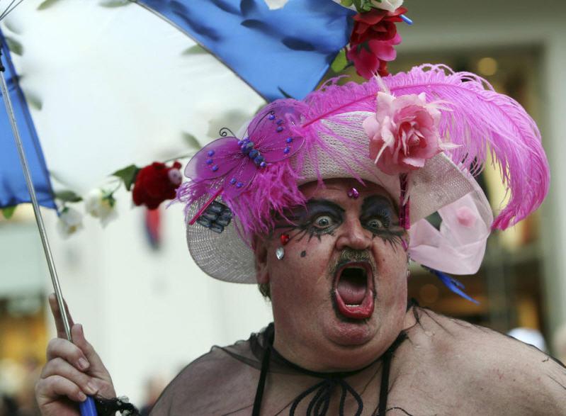 Участникам гей-парада в Киеве рекомендовали надеть обувь для бега и не забыть про трусы