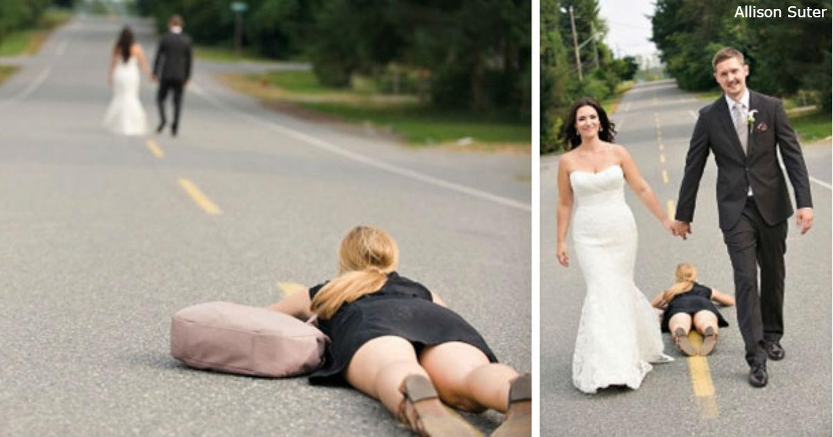 33 фото, которые доказывают, что свадебные фотографы - сумасшедшие люди