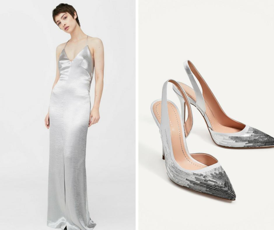 Как подобрать обувь под выпускное платье: 5 идеальных вариантов
