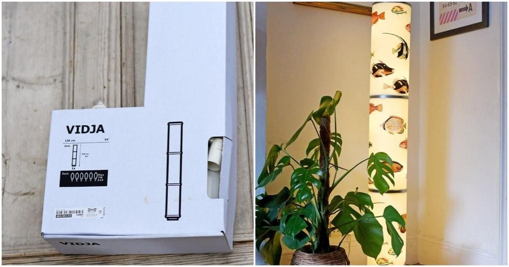 Торшер с винтажным декором— стильная переделка, возможная благодаря ИКЕА