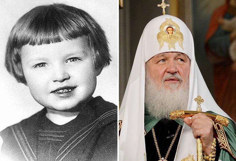 Патриарх Кирилл (в миру Владимир Гундяев). Политики в молодости: вот как они выглядели (фото)