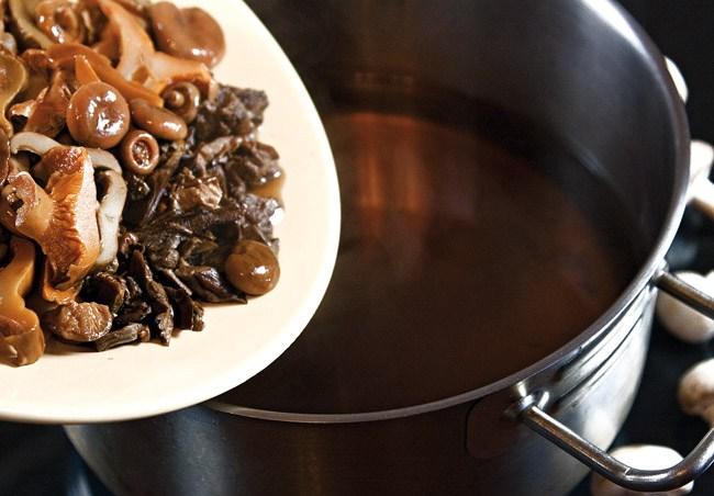 добавление сбора грибов в сборную грибную солянку