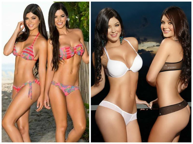 Сестры Марияна и Камила Давалос близняшки, интересное, красота, сестры