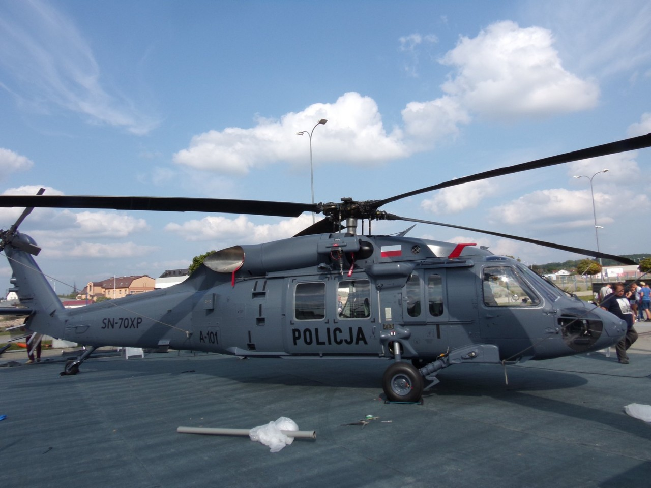 Вертолеты Black Hawk для польской полиции
