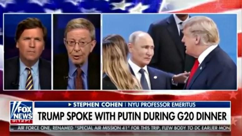 Стивен Коэн: из-за «рашагейта» у Трампа связаны руки, и это грозит войной с Россией
