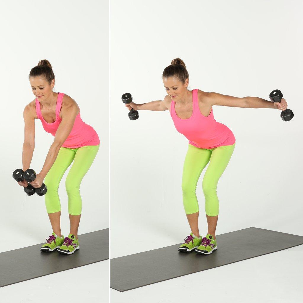 Комплекс упражнения с гантелями для женщин в домашних условиях