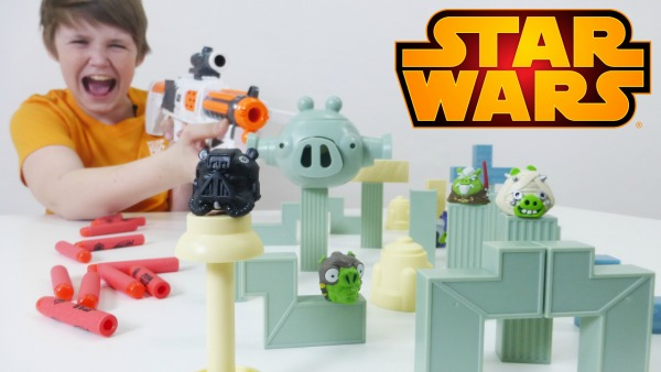 Звездные войны! Большой бластер штурмовика Nerf Star Wars у Олега Игробой. Игрушки для мальчиков.