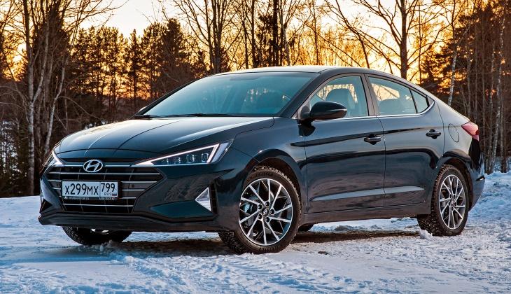 На рынок РФ вышел обновлённый седан Hyundai Elantra