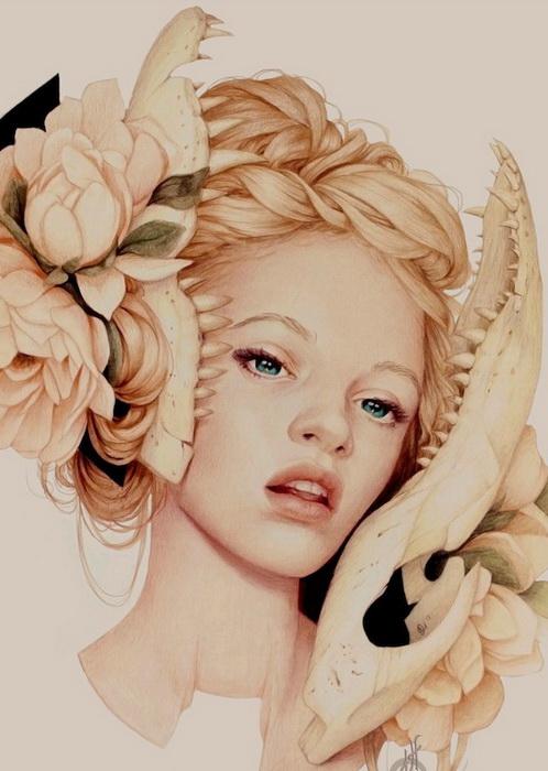 Женские портреты от Дженнифер Хили (Jennifer Healy)