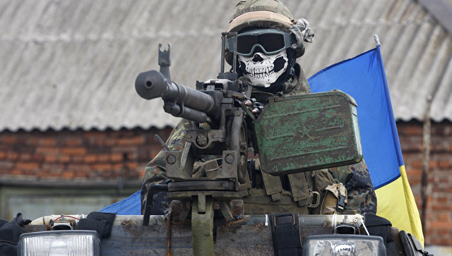 Украинские силовики пошли в наступление под Дебальцево