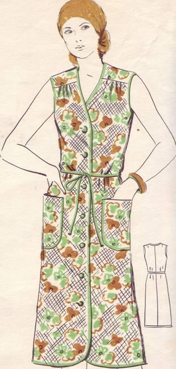 Домашний халат на пуговицах своими руками простая выкройка