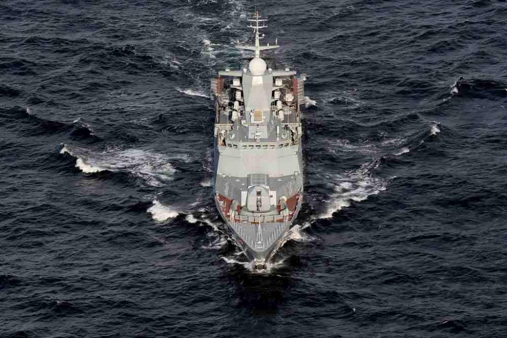 Отряд кораблей Балтфлота уше…