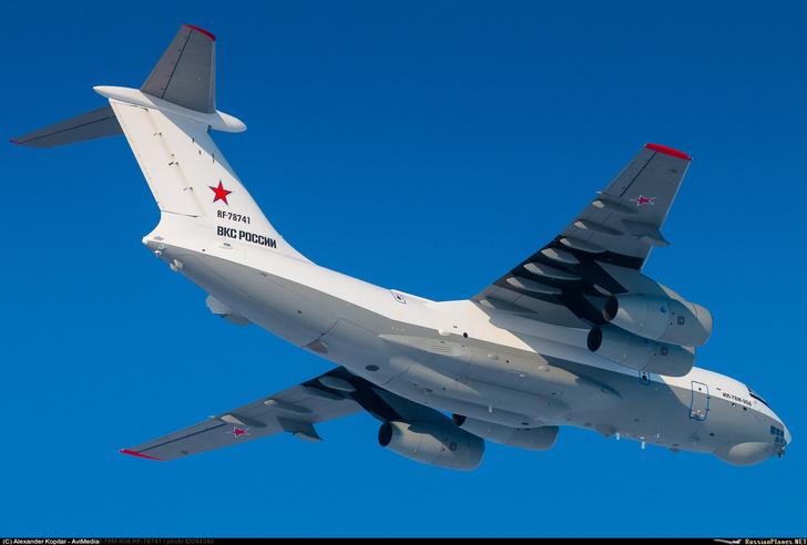 Новейший Ил-78М-90А проходит серию лётных испытаний