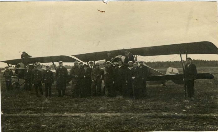 1-й Морской отдел авиационного отряда. Май 1923 год.