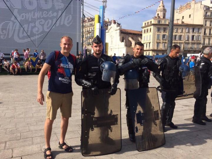 Очевидцы: «Русские в Марселе сделали всю работу за полицейских!»