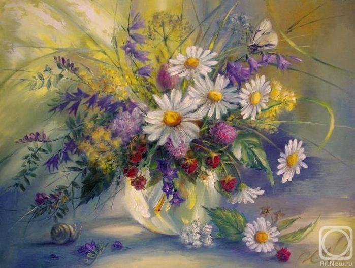 Полевые цветы (700x529, 274Kb)