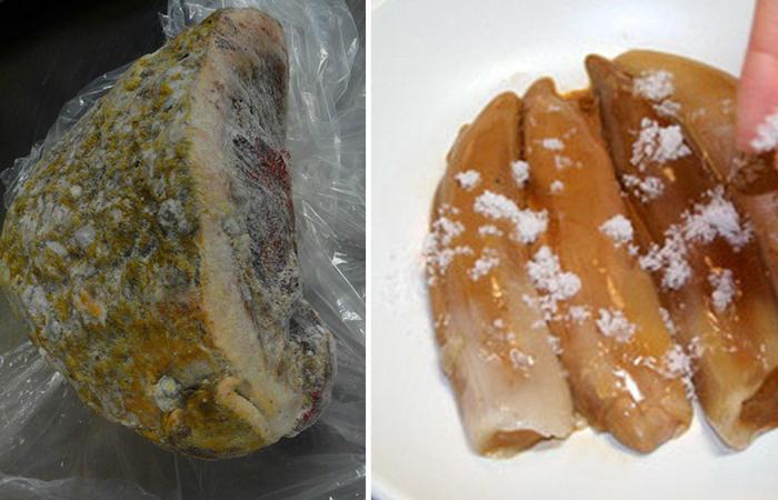 Копальхен - опасный деликатес, который могут есть только коренные жители Севера