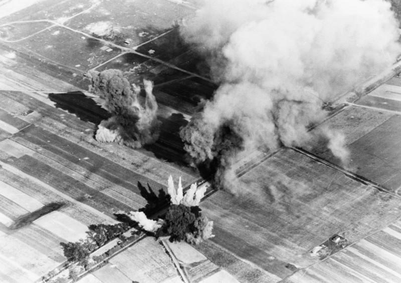 Как американские лётчики в 1944 году атаковали советские войска: воздушный бой над Нишем (15 фото)