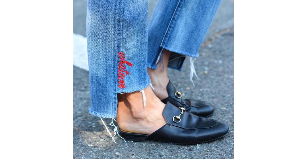 Небрежно и шикарно, или с чем носить джинсы-бойфренды?