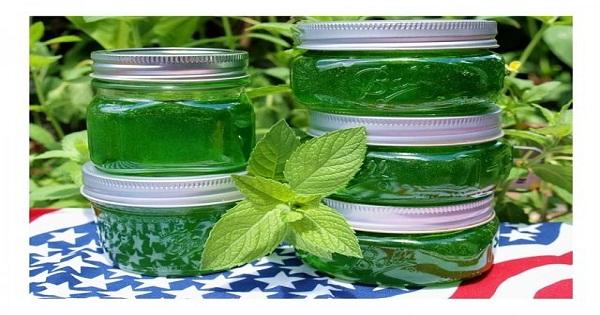 Варенье из мяты. Не только необычно и приятно на вкус, но и помогает при простудных и желудочных заболеваниях.