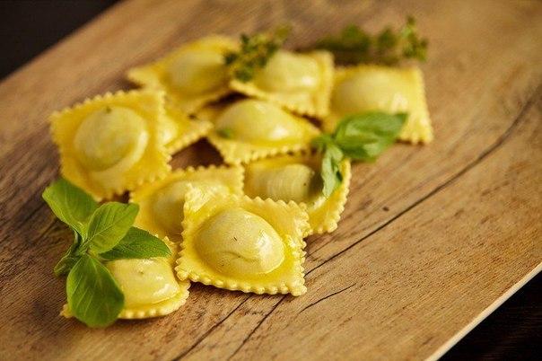 Равиоли классический итальянский рецепт с фото
