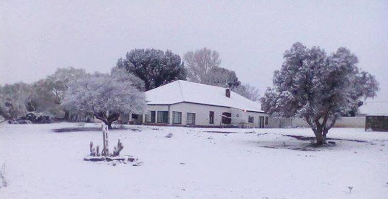 В Южной Африке начались сильные снегопады